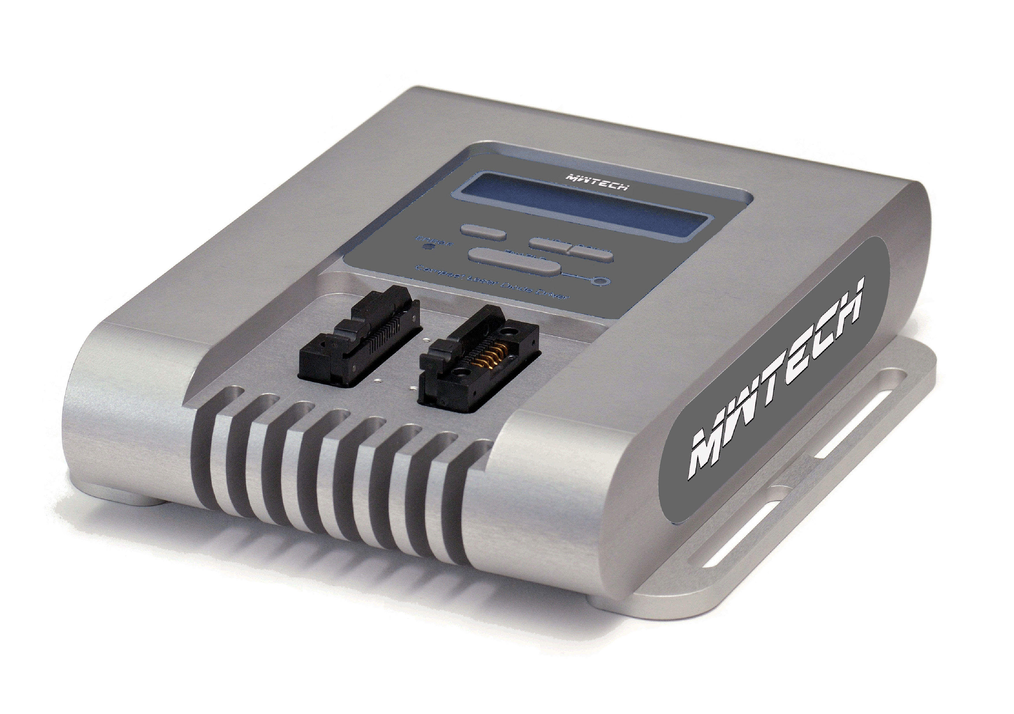 Compact all-in-one laser diode driver with temperature controller and mount, QCLDD-2
