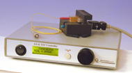 CW laser diode driver with temperature controller and mount, QSDIL-500