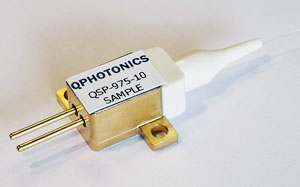 Multimode fiber coupled laser diode, 10W @ 975nm, QSP-975-10