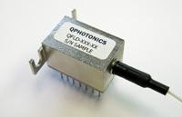 Single mode fiber coupled laser diode, 20mW @ 660nm, QFLD-660-20S