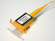 Single mode fiber coupled laser diode, 10mW @ 1550nm, QFLD-1550-10S